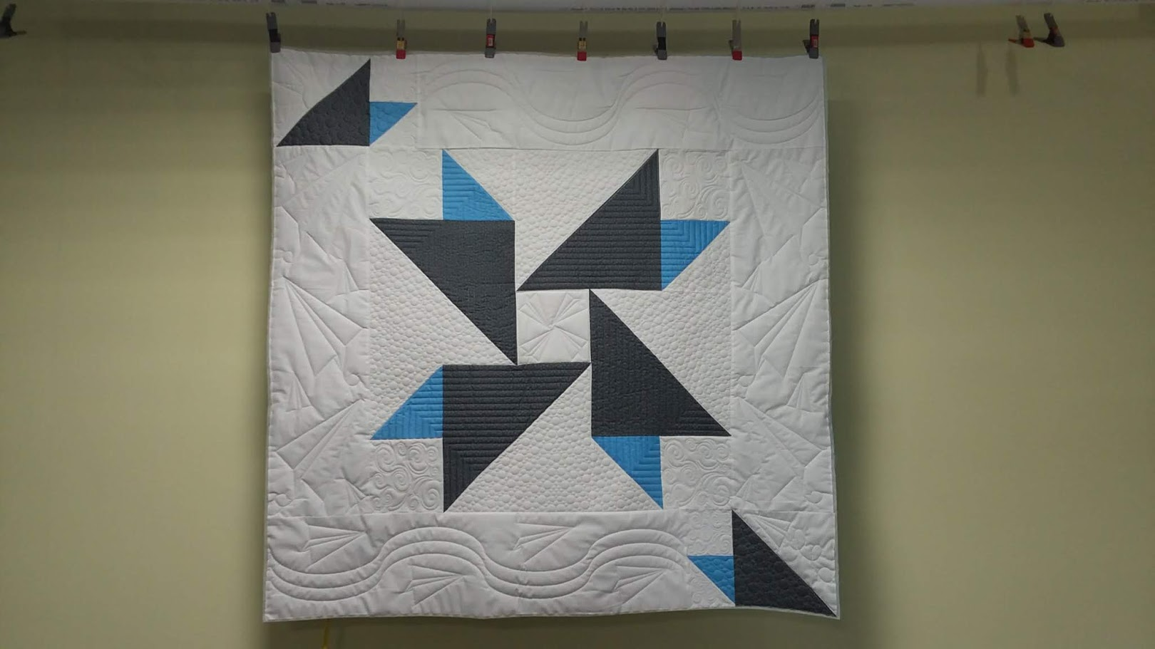 paper planes quilt done